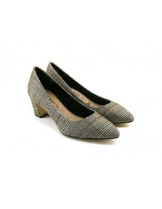 Tamaris 22423 grigio tartan
