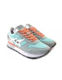 Sun68 Sneakers da Donna Ally Star Z31208 turchese