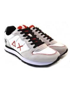 Sun68 Sneakers da Uomo Tom Japan Z31104 bianco