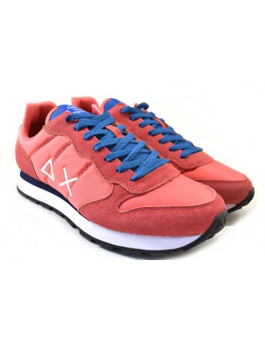Sun68 Sneakers da Uomo Tom Solid Nylon Z31101 geranio
