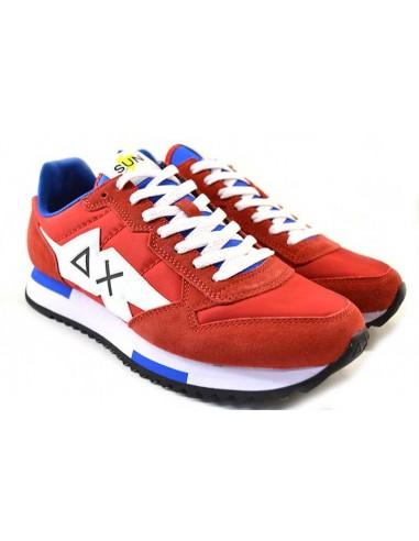 Sun68 Sneakers da Uomo Niki Solid Z31118 rosso blu