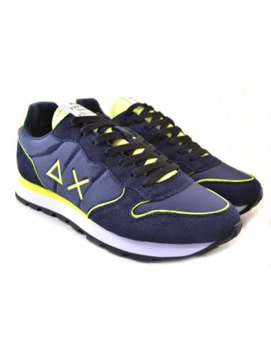 Sun68 Sneakers da Uomo Tom Nylon Z31102 blu