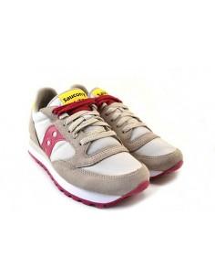 Saucony Sneakers da Donna Jazz Original 1044 grigio fuxia