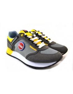 Colmar Sneakers da Uomo TRAVIS SPORT COLORS grigio giallo