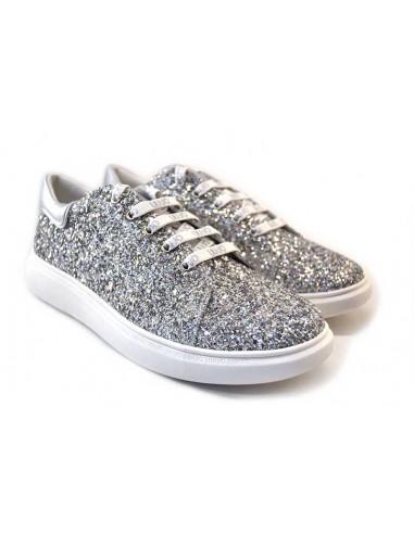 LiuJo Sneakers da Donna 4A1761 argento