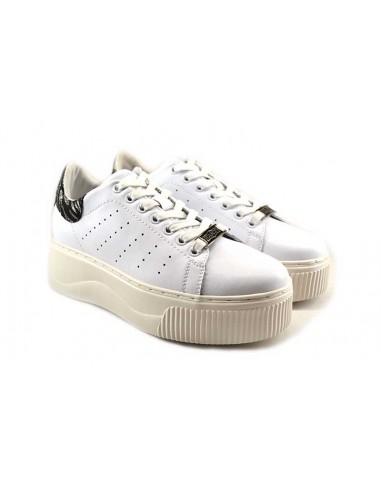 Cult Sneakers da Donna 316209 bianco zebra nero