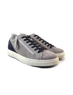 igi&co 7128111 grigio 0 scarpe uomo pelle fondo gomma