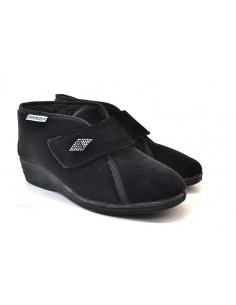 Emanuela Pantofole da Donna 536 nero