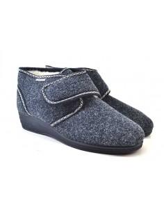 Emanuela Pantofole da Donna 831 blu